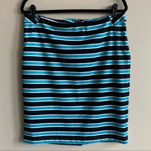 The Limited Stripe Pencil Skirt Size 12